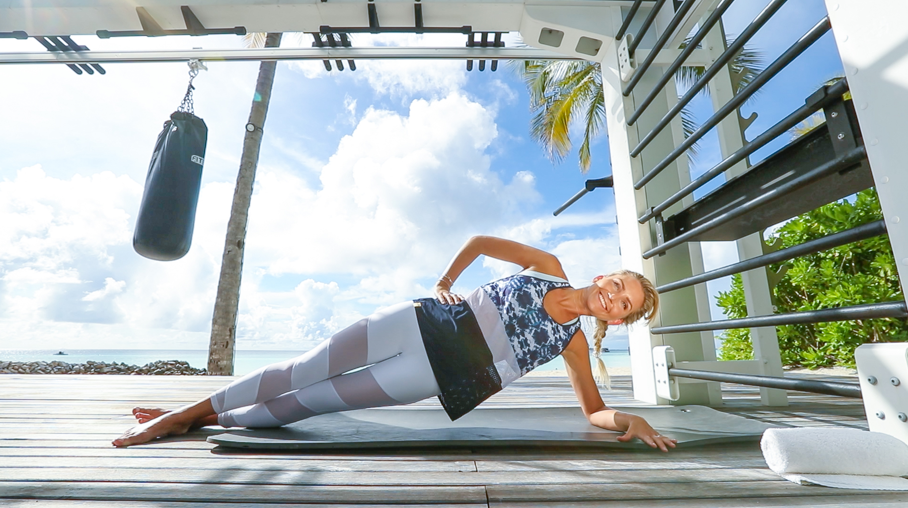 Fitness On Toast Faya Blog Girl Healthy Workout Training Maldives Working Out Ab Routine Beach Easy Moves Rock Hard Stomach Abdominals-3