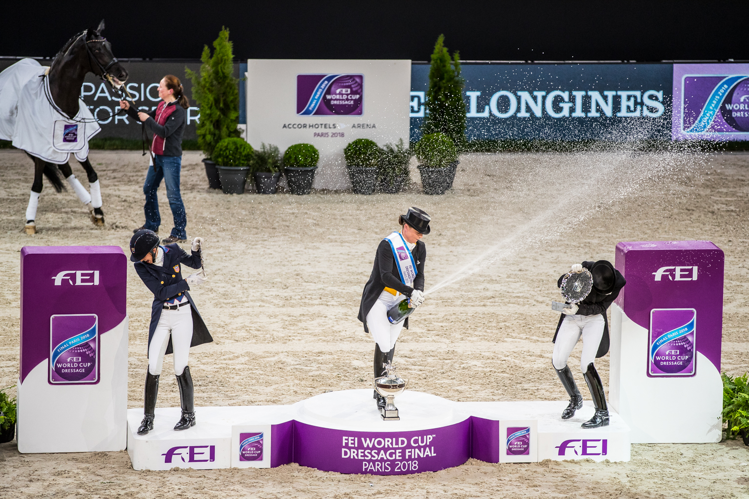 Fitness On Toast - FEI Dressage World Cup Finals Paris April 2018 France-10