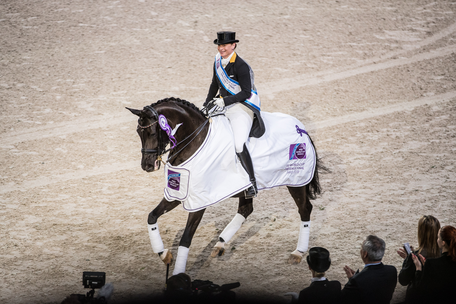 Fitness On Toast - FEI Dressage World Cup Finals Paris April 2018 France-9