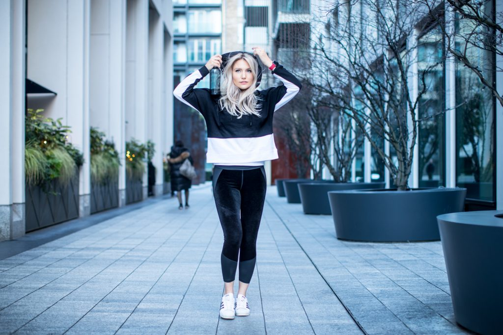 Fitness On Toast Faya Blog Girl Healthy Workout Fashion DKNY Sport London England West End Photoshoot OOTD Luxe Sport Lux Look-8