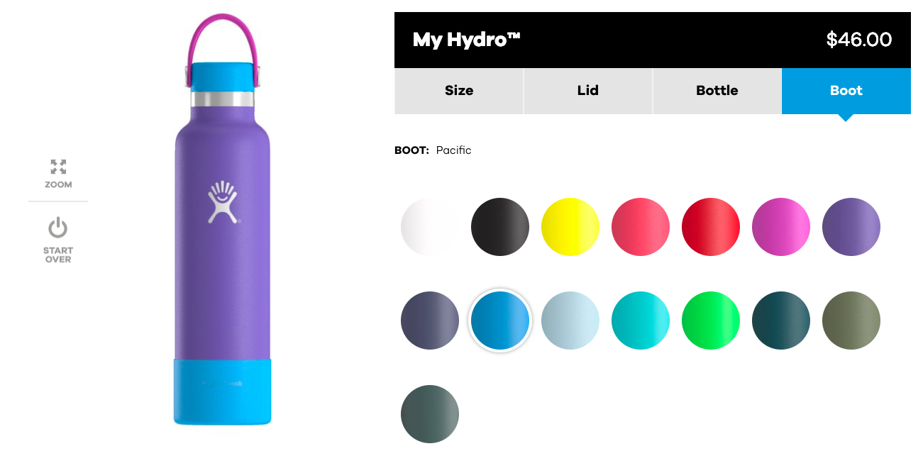 Hydro Flask Custom Water Bottles