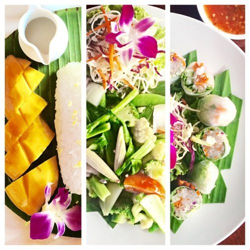 Delicious health Thai food